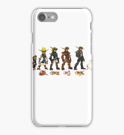 Jak and Daxter Saga - Simplified Colours iPhone Case/Skin
