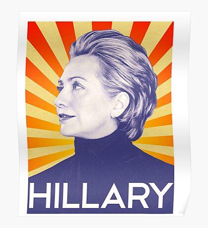 Hillary Clinton T-shirt 2016  Poster