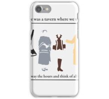 Those Were the Days iPhone Case/Skin