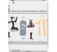 Those Were the Days iPad Case/Skin