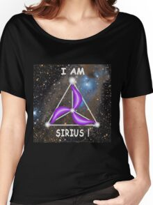 Sirius Symbology - I am Sirius! Women's Relaxed Fit T-Shirt