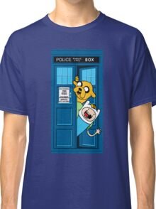 Finn and Jake Police Box Classic T-Shirt