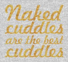Naked cuddles... Inspirational Quote One Piece - Short Sleeve