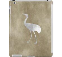 Grunge Crane iPad Case/Skin
