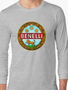 Benelli Vintage motorcycle Italy Long Sleeve T-Shirt