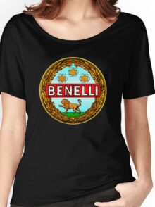 Benelli Vintage motorcycle Italy Women's Relaxed Fit T-Shirt