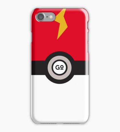 Pikachu Ball (Pokemon Go) iPhone Case/Skin