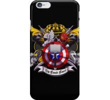 The Comic Court Crest iPhone Case/Skin