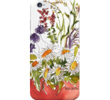 Pot of Flowers iPhone Case/Skin