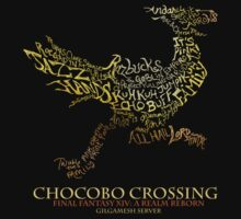 Chocobo Crossing shirt by andagora