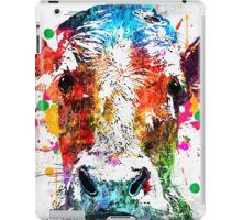 Cow Grunge iPad Case/Skin