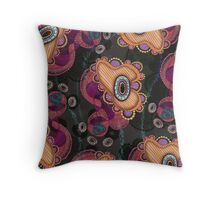 Jellyfish, Night Throw Pillow