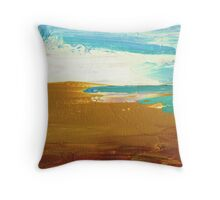 Dockweiler Beach Throw Pillow