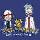 Rick and Morty - Gazorpazorpmon by BovaArt