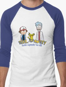 Rick and Morty - Gazorpazorpmon Men's Baseball ¾ T-Shirt