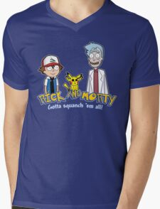 Rick and Morty - Gazorpazorpmon Mens V-Neck T-Shirt