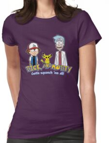 Rick and Morty - Gazorpazorpmon Womens Fitted T-Shirt
