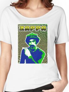 Frank Zappa Blacklight Women's Relaxed Fit T-Shirt