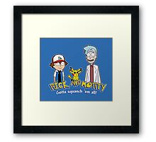 Rick and Morty - Gazorpazorpmon Framed Print