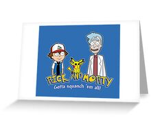Rick and Morty - Gazorpazorpmon Greeting Card