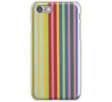 Colorful Retro Stripes iPhone Case/Skin