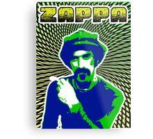 Frank Zappa Blacklight Metal Print