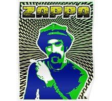 Frank Zappa Blacklight Poster