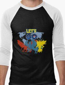 LETS GO! Men's Baseball ¾ T-Shirt