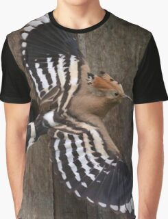 Hoopoe In Feuersbrunn, Lower Austria Graphic T-Shirt
