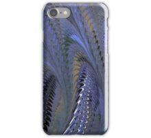 Retro Marbleized Waves iPhone Case/Skin