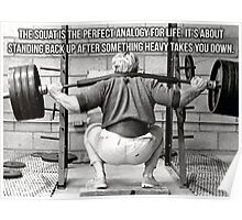 Squat Analogy Poster