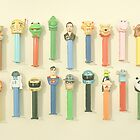 Pez Collection by Debbra Obertanec