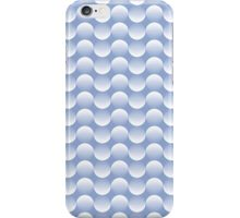 Geometric pattern with circles in serenity iPhone Case/Skin