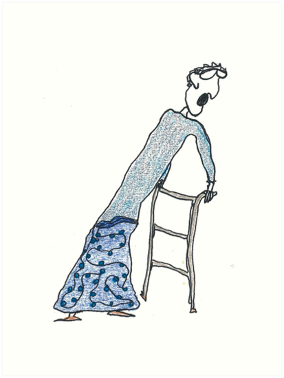 Fragile Frida (one-line #122) by dthaase