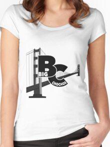 Big Chochos Logo SF Women's Fitted Scoop T-Shirt