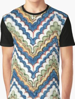 Retro Chevron Graphic T-Shirt