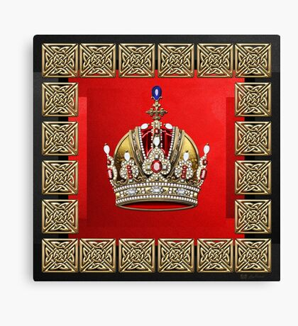 Imperial Crown of Austria Canvas Print