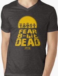 Fear the 8-bit dead Mens V-Neck T-Shirt