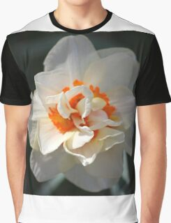 Blooming Double Daffodil  Graphic T-Shirt