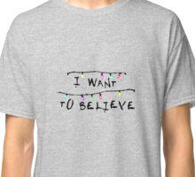 Stranger Things (x-files) Classic T-Shirt