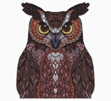 Great Horned Owl 2016 Baby Tee