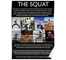 The Universal Squat Poster