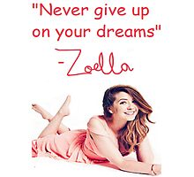 Zoella - DREAMS Photographic Print