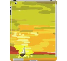 So small on the water iPad Case/Skin