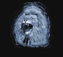 Angry Lion Roaring Design Unisex T-Shirt
