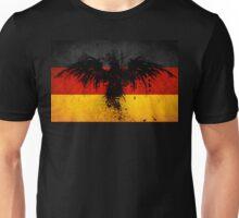 Flag of Germany w/ Eagle Design Unisex T-Shirt