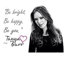 Tanya Burr - BE YOU Photographic Print