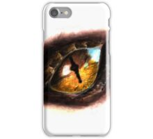 Fire Dragon Eye iPhone Case/Skin