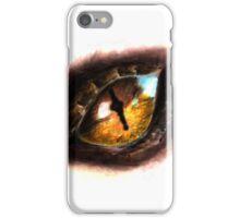 Fire Dragon Eye iPhone Case/Skin
