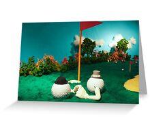 Let's Play Golf - Fairway Greeting Card